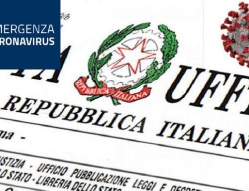 CHIUSURA UFFICO AL PUBBLICO PER EMERGENZA COVID-19