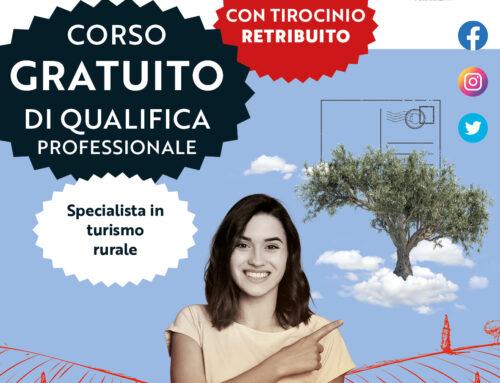 OPERATORE per l'ACCOGLIENZA e la PROMOZIONE dell'OFFERTA TURISTICA TERRITORIALE – Specializzazione Turismo Rurale